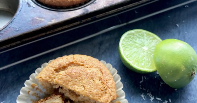 Lime in the Coconut Muffins