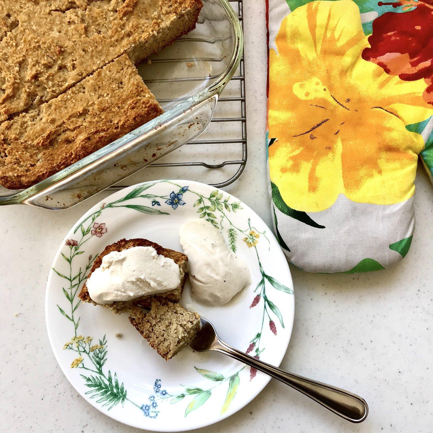 Gluten and Dairy-Free Banana Cake