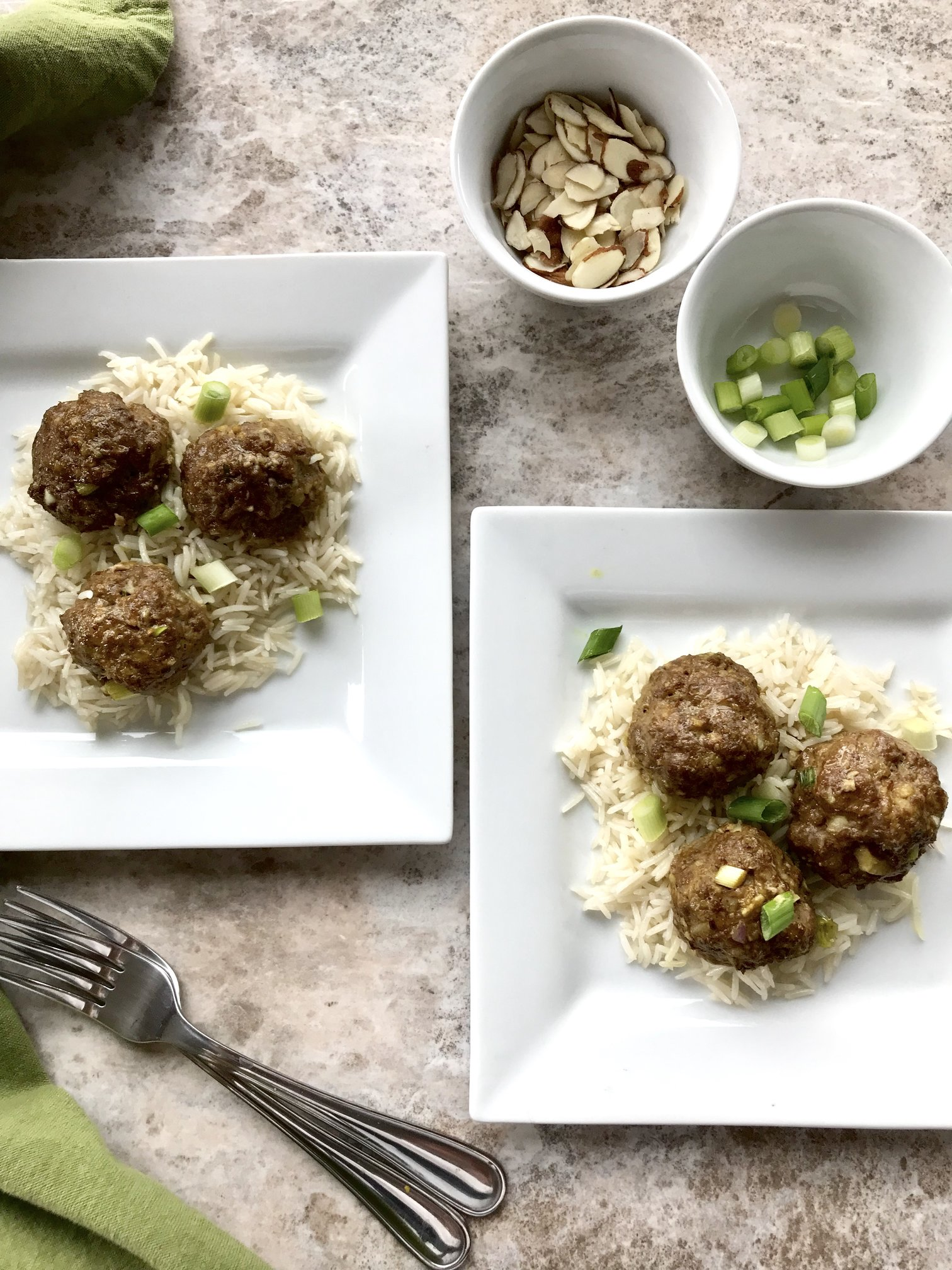 East Meets West Meatballs