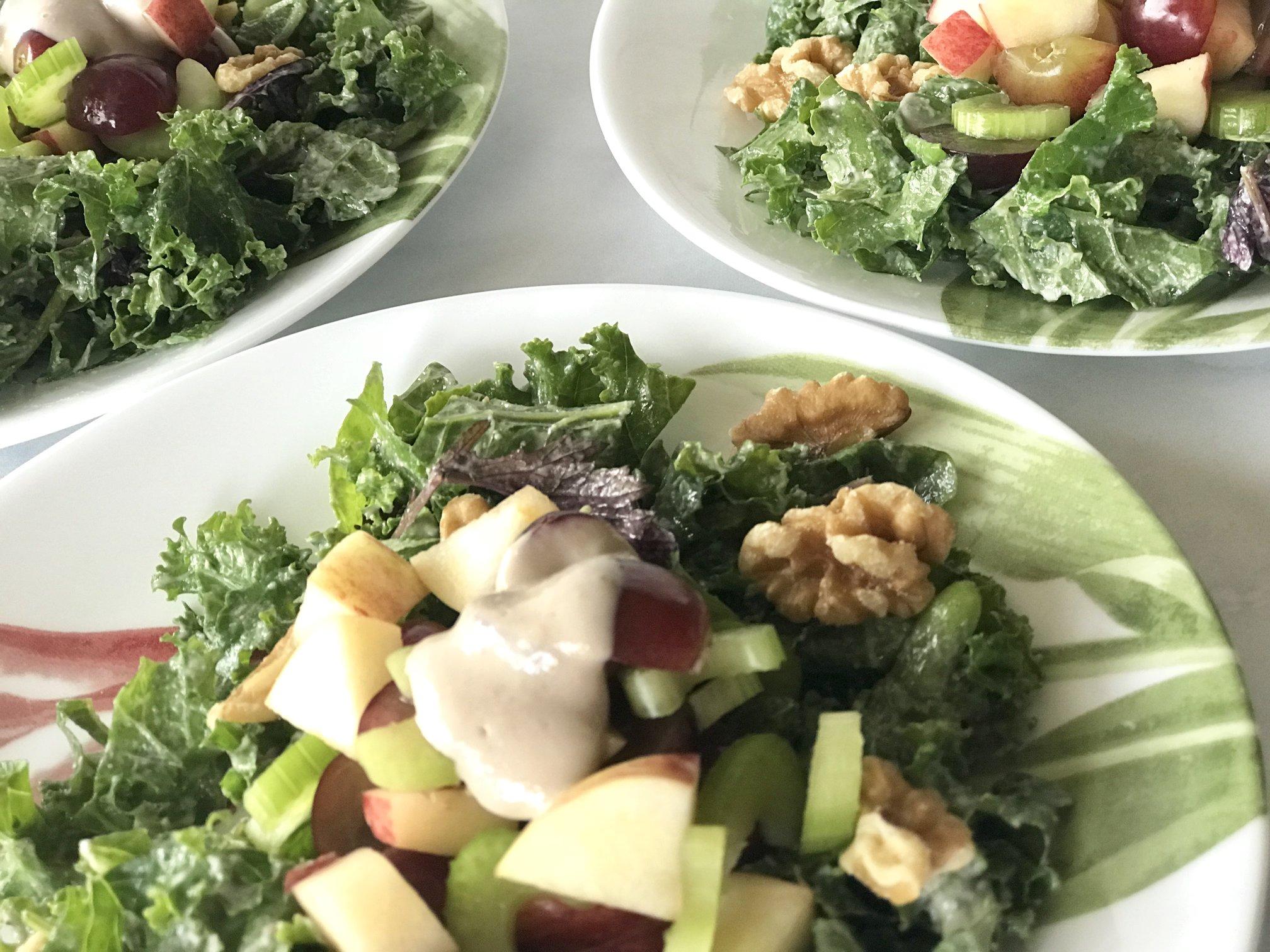Waldorf Kale Salad