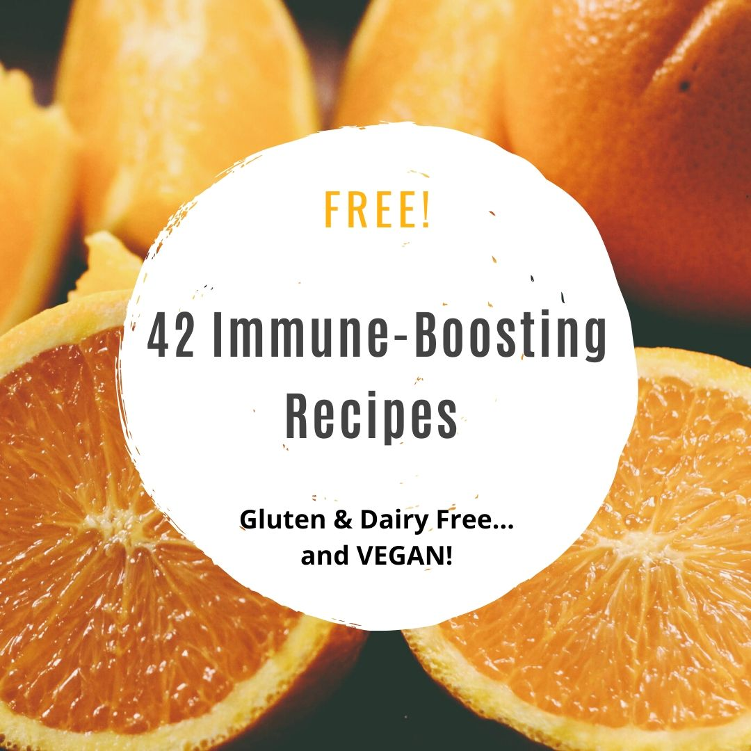 42 Immune-Boosting Recipes E-Book…VEGAN!