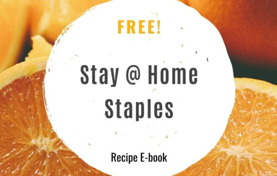 Stay-At-Home Staples E-book